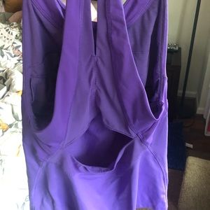 Purple lulu tank size 6